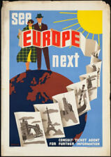 Contemporary (1980-Now) Travel Art Posters