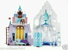 Disney Frozen Anna & Elsa 2 In 1 Castle & Ice Palace Playset NEW