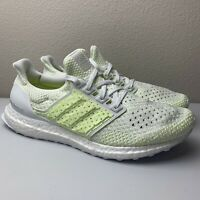 Adidas Ultraboost Clima - White Solar Yellow Ultra Boost Men's Size 8 AQ0481