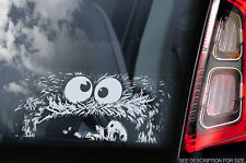 COOKIE MONSTER - vitre voiture autocollant -muppet Show Peeper Sesame Street