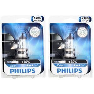 2 pc Philips High Low Beam Headlight Bulbs for Ford E-150 E-150 Econoline rv