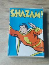 Vintage 1977 Shazam! Super Hero Card Game DC Comics Russell's