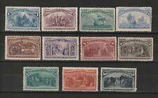USA 1893 Columbus Scott # 230/240 MINT wel centered and original gum