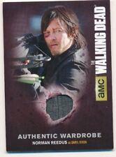 Walking Dead Season 4 Part 1 Authentic Wardrobe Card M-13 Daryl Dixon