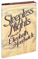 Sleepless Nights — Elizabeth Hardwick — First Edition (First Printing) Hardcover