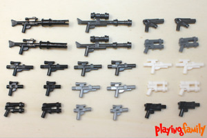 LEGO STAR WARS, XXL Waffen Pack, 26 Waffen aus 32 LEGO®-Teilen, Blaster, Gewehr