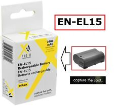 Hi Capacity Rechargeable EN-EL15 Li-Ion Battery for Nikon D7000 D7100 D810