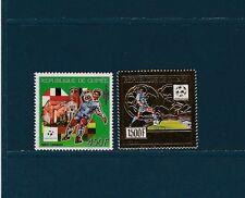 Guinée république  PA  football Italia92 1989  dont  sur  OR  num : PA 246/47 **