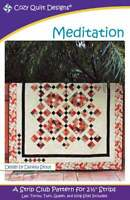 Meditation quilt pattern - cozy quilt design