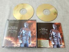 MICHAEL JACKSON HISTORY PAST,PRESENT AND FUTURE BOOK 1  2 DISC CD ALBUM PREOWNED