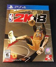 NBA 2K18 [ Legend Edition GOLD ] (PS4) NEW
