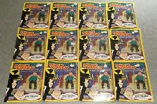 Playmates Disney Dick Tracy The Tramp Complete Action Figures Sealed Lot of 12