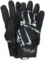 Brand New Nike Trout Elite Baseball Batting Glove Black & Chrome LARGE cg