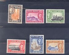 HONG KONG SG 163-68 1941 CENTENARY OF BRITISH OCCUPATION M/M