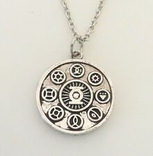 """DC Comics The Green Lantern Series Power Ring Runic Necklace with 20"""" Chain"""