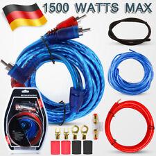 9x 1500W 10 AWG Car-Hifi Kabelset KFZ AUTO Endstufe Verstärker Kabel Kit Chinch