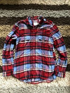 Women's American Eagle Flannel Shirt Size Large
