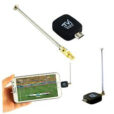 1pc Mini Micro USB DVB T Digital Mobile TV Tuner Receiver for Android 4.0 5.0 LQ