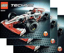 LEGO® Technic BAUANLEITUNG für 42000 Sportwagen NEU ONLY INSTRUCTION