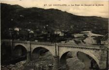 CPA Le Cheylard Le Pont de Sauzet et la Gare (398704)