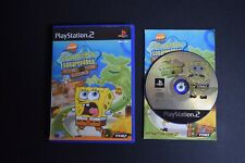 SpongeBob Squarepants Game Good Condition Manual PlayStation PS2 PAL UK