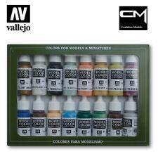 Vallejo Model Color 70146 Naval Steam Era Paint Set Contains 16 x 17ml Colours