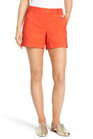 Vince Camuto Cuffed Shorts Red Hot Havana Brights Fashion -  2 Petite 2P - $74