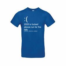 Geek Humor 2020 F * cked-BSoD Computer Parodie T-Shirt Windows 10 OS