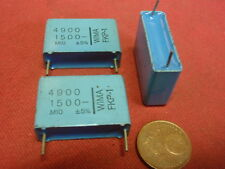 KONDENSATOR NOSTALGIE FKP-1 WIMA  4,9nF (4900pF) 1500V=  25x18x7mm 3x   25634