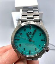 Mint Adidas Watch Z032917-00 Cypher M1 Gunmetal Subgreen NEW $190 Retail