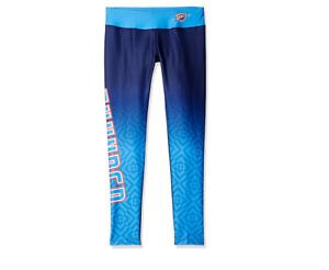 KLEW NBA Women's Oklahoma City Thunder Gradient Print Leggings