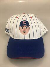 Chicago Cubs Rizzo 44 Emoji Pinstripe Cotton Baseball Cap Melonwear SGA 8/31/17