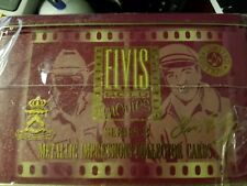 Elvis Presley Factory Sealed Metallic Collector  Cards  Series 3 The Movies  New