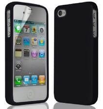 SOFT SILICONE RUBBER GEL FLEXIBLE SKIN COVER POUCH CASE HQ FOR IPHONE 4 4S 4g