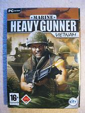 PC CD Rom Spiel Marine Heavy Gunner Vietnam USK 18 Vietnam Steht In Flammen