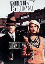 BONNIE AND CLYDE - Warren Beatty Faye Dunaway DVD NEW/SEALED