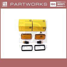 Clignotants Latéraux Pour Porsche 911 G 964 993 924 944 968 + Poires Orange