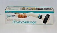 Pollenex WM15 Power Massager Back Relief 2 speed High-Intensity Gooseneck