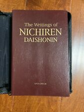 New ListingThe Writings of Nichiren Daishonin Vinyl Covered Book with Free Zippered Package