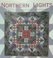 """Northern Lights"" quilt magazine pattern throw/wall quilt"