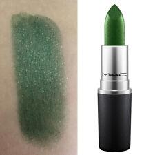 MAC Metallic Lipstick ZEROCOOL Green New In Box Full Size DISCONTINUED