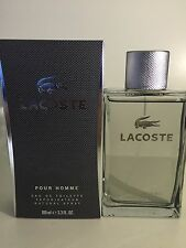 LACOSTE Pour Homme 3.4 oz edt for Men 3.3 Cologne New in Box
