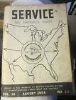 Vintage Sears SERVICE August 1954  vol 15 106.5421110 Freezer repair manual photo