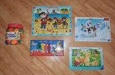 Ravensburger Kinderpuzzle, Simba Xylophon, Steckblumen 3 Jahre