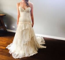 Beading Chiffon A-Line Regular Wedding Dresses