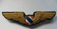 Pilot Junior Wing ROYAL THAI AIR FORCE WING PIN Badge ปีกนักบินกองทัพอากาศชั้น3