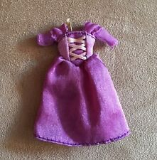 "Mini 3"" Rapunzel Tangled doll dress replacement sized Disney store"