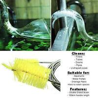 155CM Fish Tank Aquarium Pump Filter Pipe Tube Hose Flexible Brush Cleaner