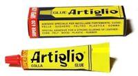 COLLA MASTICE ARTIGLIO PER PELLE E CUOIO IDEALE SCARPE BORSE PELLE gr. 25-75-150