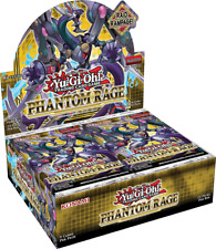 Phantom Rage Booster Box English 1st Edition YuGiOh TCG NEW SEALED SHIPS 11/6!